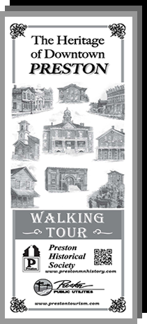 Preston Walking Tour Map