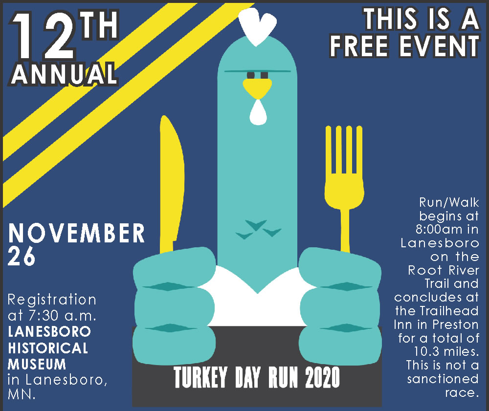 Fillmore County Turkey Day Run @ Lanesboro | Minnesota | United States