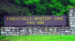 Preston, Minnesota - Trout Capital of Minnesota - Forestville/Mystery Cave State Park