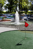 Preston, Minnesota - Trout Capital of Minnesota - Niagara Cave Mini Golf in Harmony, MN