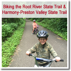Preston, Minnesota - Trout Capital of Minnesota - Root River State Trail & Harmony/Preston Valley State Biking Trails