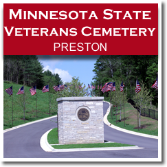 Preston, Minnesota - Trout Capital of Minnesota - Minnesota State Veterans Cemetery Preston