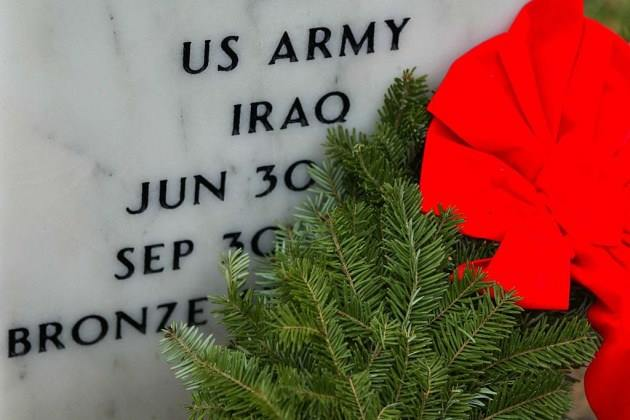 Wreath's For The Fallen @ Minnesota State Veteran's Cemetery