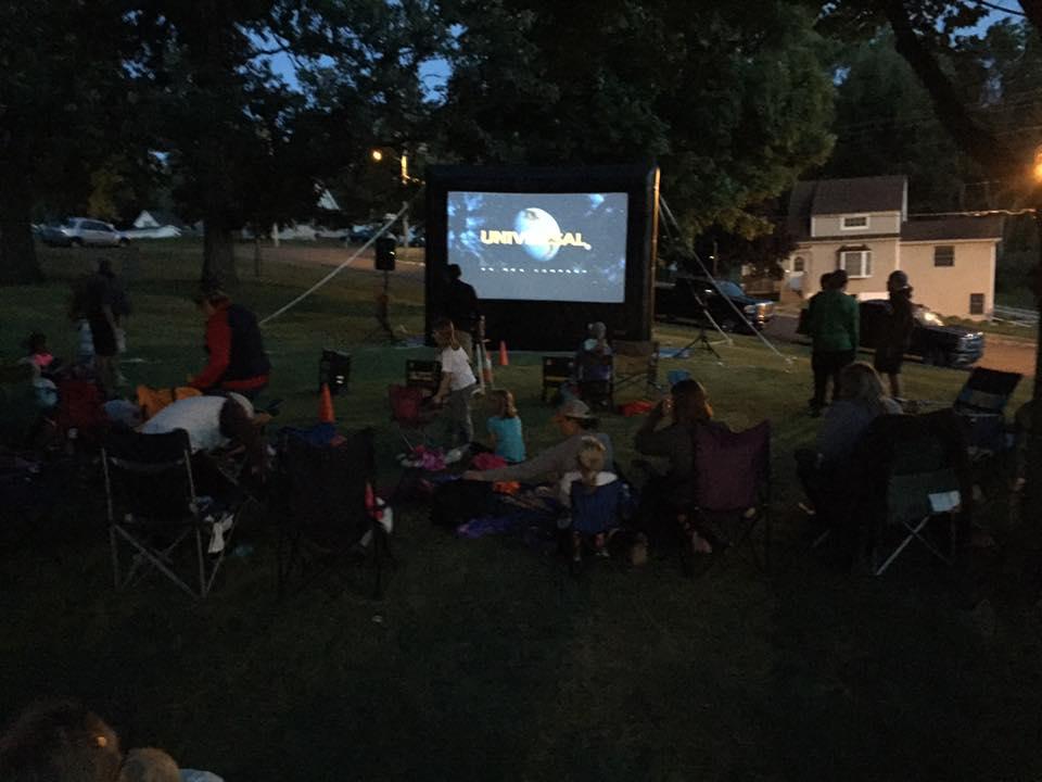 Family Movie Night @ Preston Trailhead Park