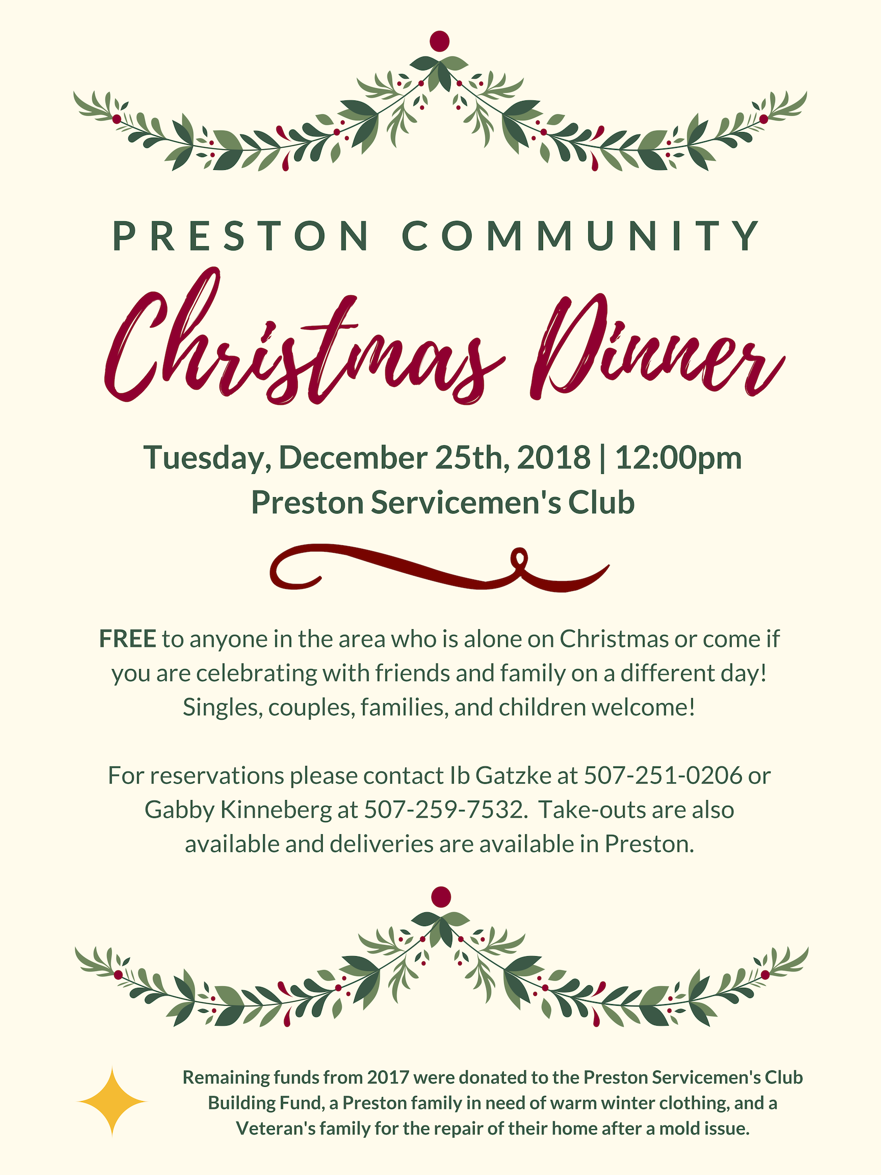 Preston Tourism and Chamber – Events