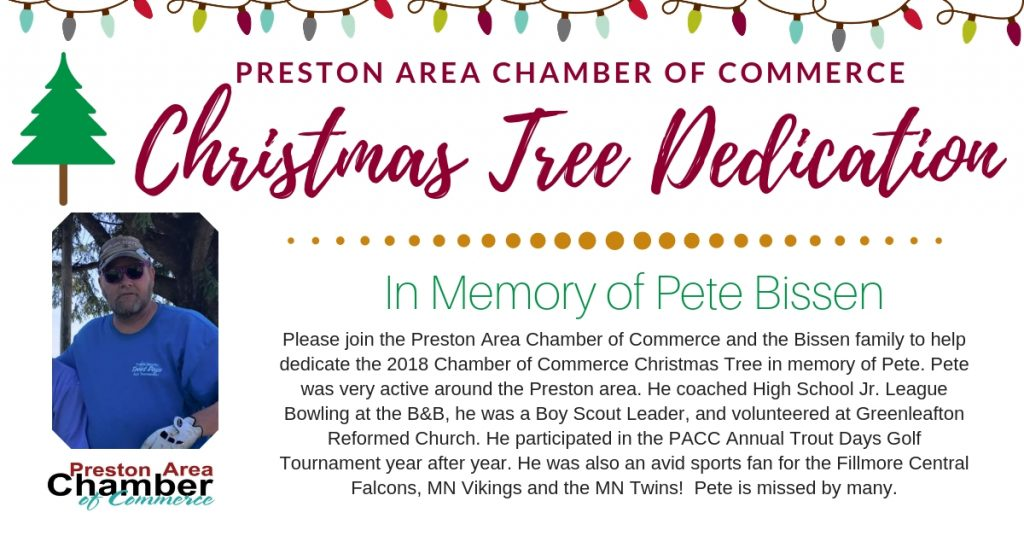 PACC Christmas Tree Dedication @ Preston City Hall