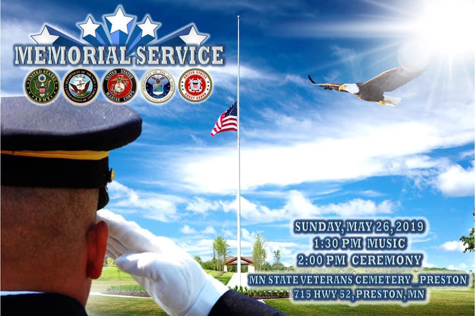 Minnesota State Veterans Cemetery Memorial Event @ Minnesota State Veterans Cemetery | Preston | Minnesota | United States