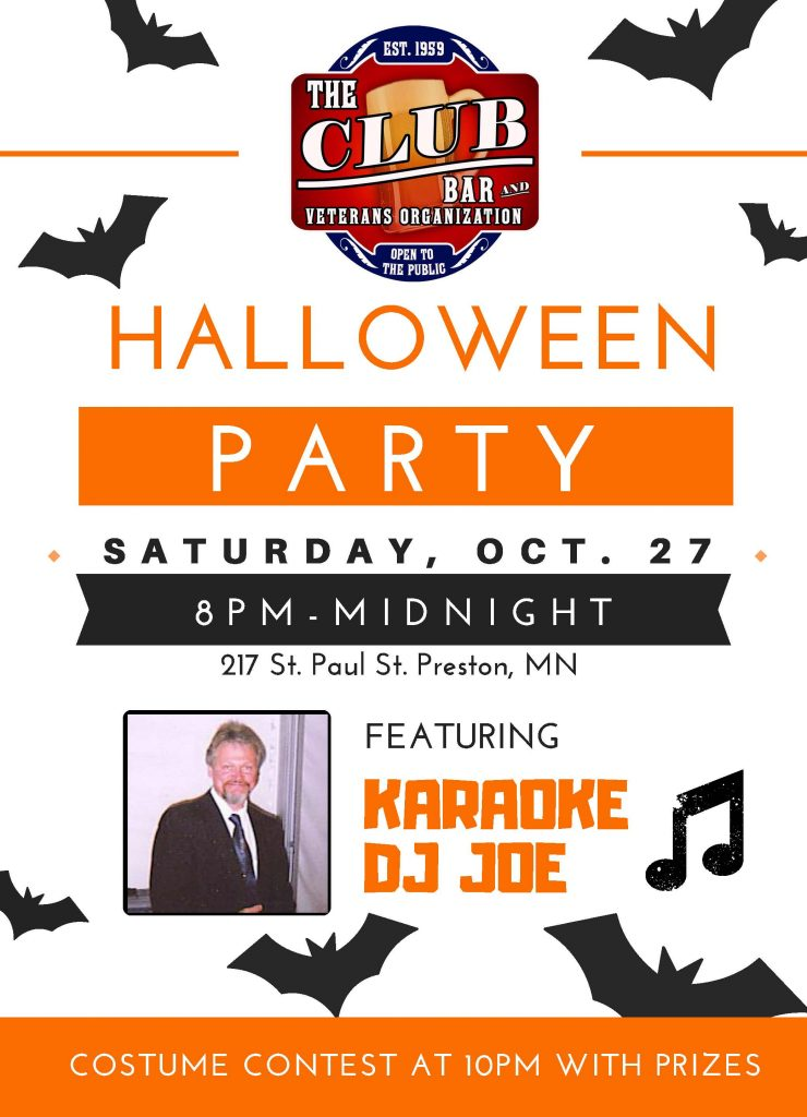 Halloween Party @ Preston | Minnesota | United States