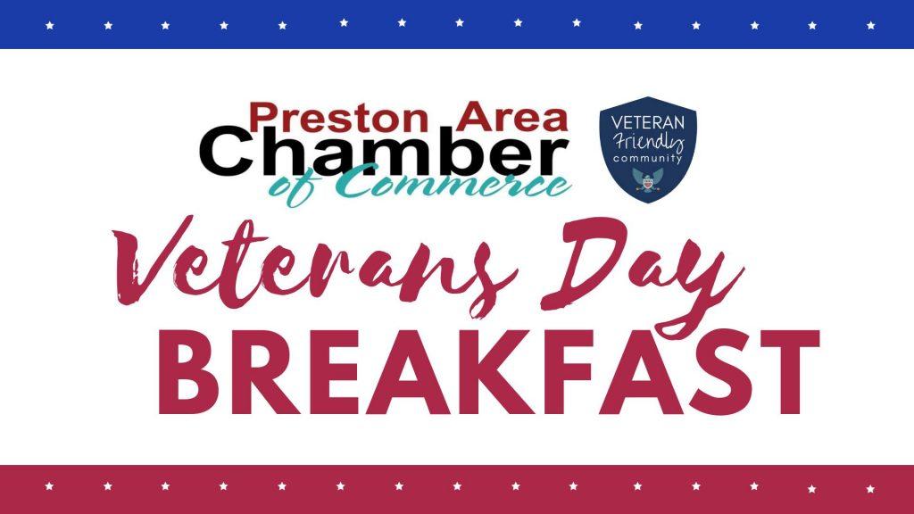 PACC Veterans Day Breakfast @ Preston Servicemen's Club