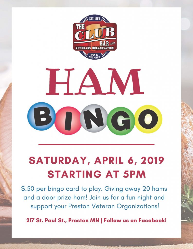 Ham Bingo @ Preston Servicemen's Club