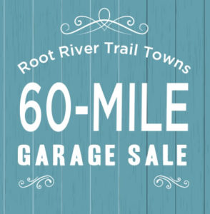 CANCELLED- 60 Mile Garage Sale sponsored by The Root River Trail Towns