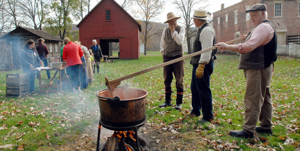 Make Apple Butter Day @ Historic Forestville