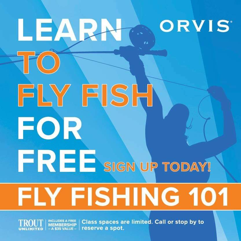 Orvis Fly Fishing 101 @ Driftless Fly Fishing Company
