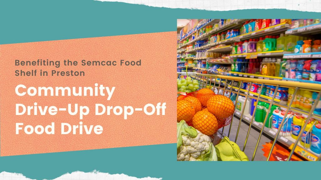 Community Drive-Up Drop-Off Food Drive @ Christ Lutheran Church
