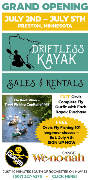 Driftless Kayak Grand Opening @ The Driftless Kayak