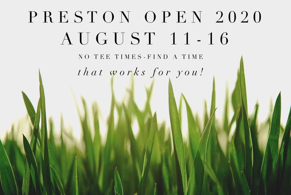 Preston Open @ Preston Golf Course