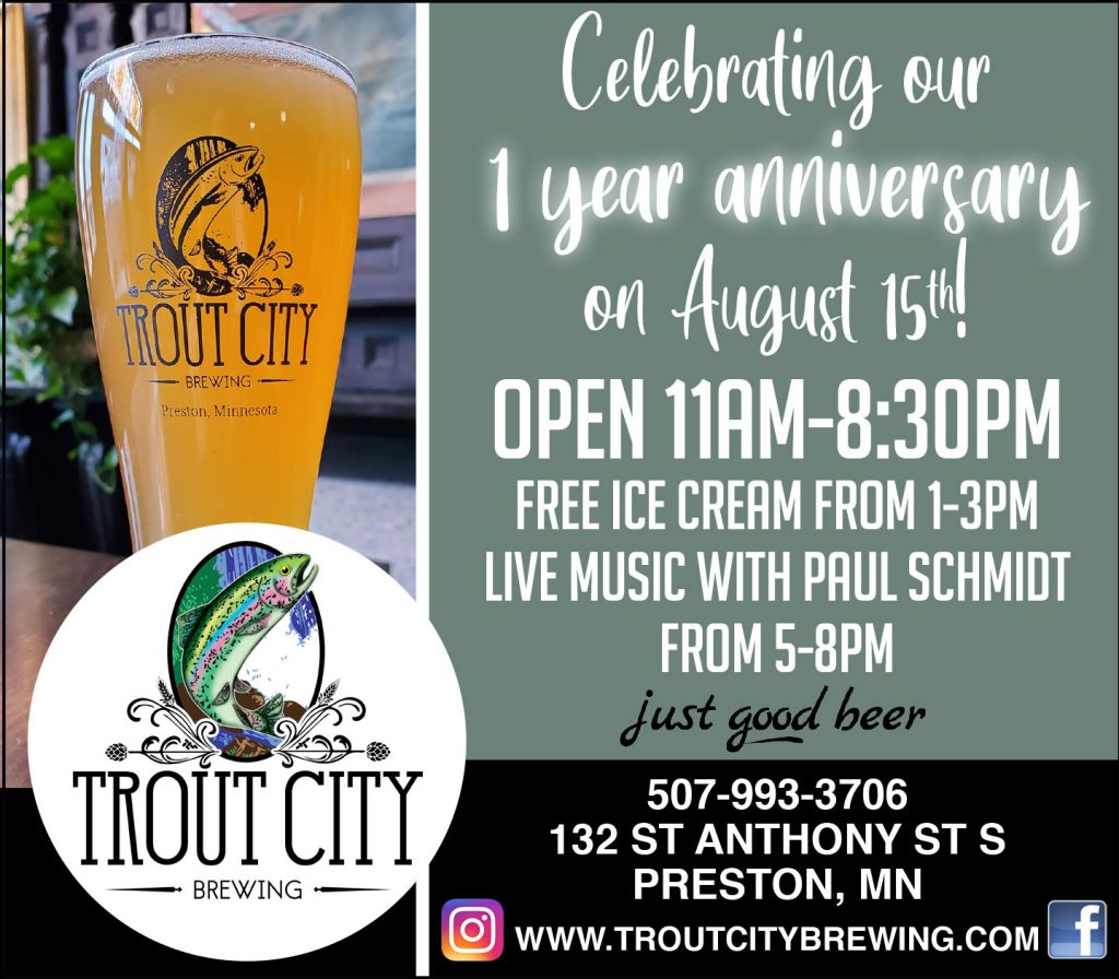Trout City Brewing 1 Year Anniversary @ Trout City Brewing