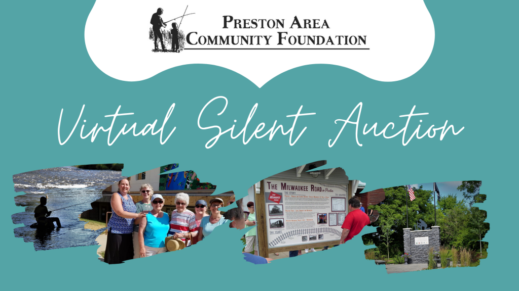 Preston Area Community Foundation's Virtual Silent Auction @ ONLINE