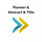 Pioneer & Abstract & Title