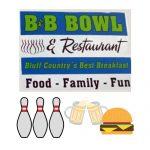B&B Olympic Bowl & Restaurant